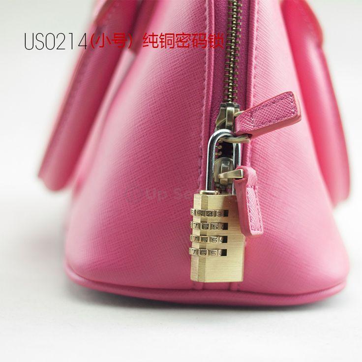 4 Digit brass Combination Lock Password Plus copper Padlock Protable Travel and bag 4 Digit Password Padlock