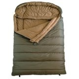 TETON Sports Mammoth Queen Size Flannel Lined Sleeping Bag (94 x 62-Inch, Olive Green) (Sports)By Teton Sports