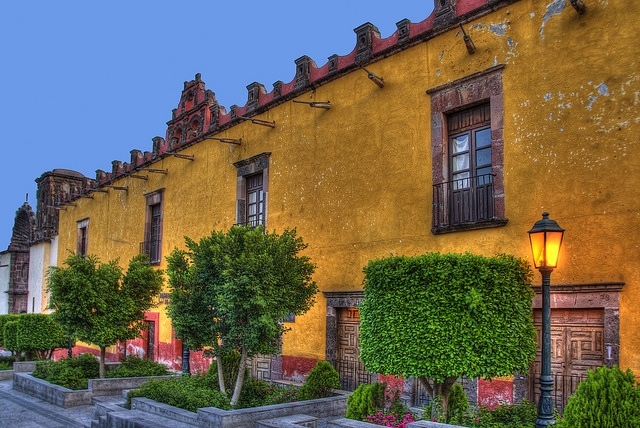 colorful san miguel de allende #mexico #architecture