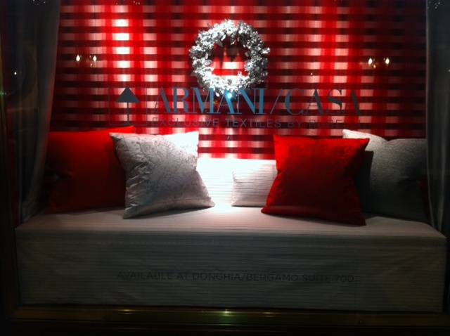 Season's Greetings from Armani/Casa