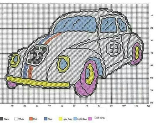 herbie  love bug plastic canvas plastic canvas patterns plastic canvas crafts canvas crafts