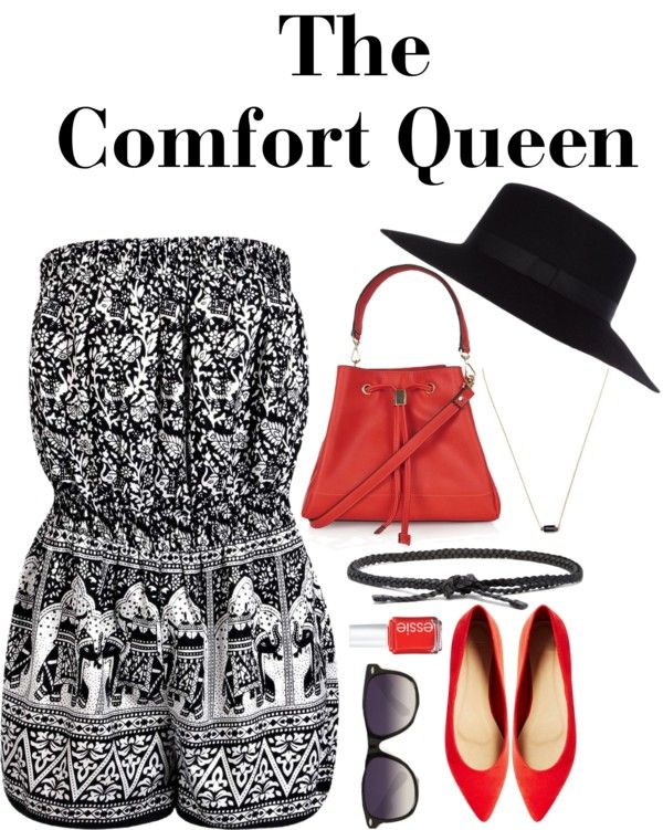 "Summer Picnic Outfit Idea ""The Comfort Queen"""