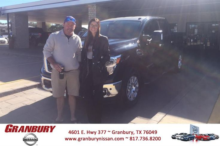 Congratulations Stephen on your #Nissan #Titan from Chelsea Irby at Granbury Nissan!  https://deliverymaxx.com/DealerReviews.aspx?DealerCode=G586  #GranburyNissan