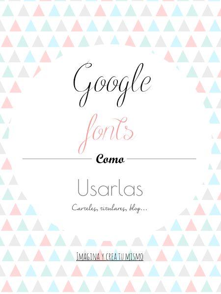 Google fonts ¿Como descargar tipografias?