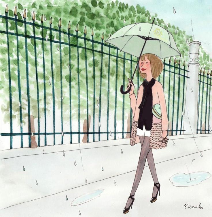 Kanako Kuno My little Paris Du soleil, sous la pluie, à midi, à minuit, il y a tout ce que vous voulez...
