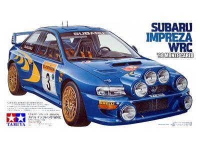 Boxart Subaru Impreza WRC 24199 Tamiya