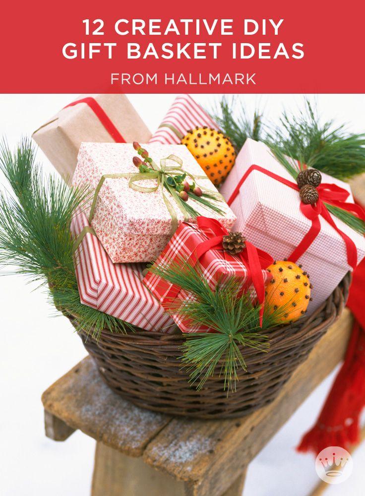 Best creative gift baskets ideas on pinterest