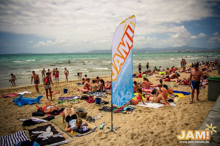 Abifahrt - Mallorca-Palma-JAM-Base-Strand-El-Arenal