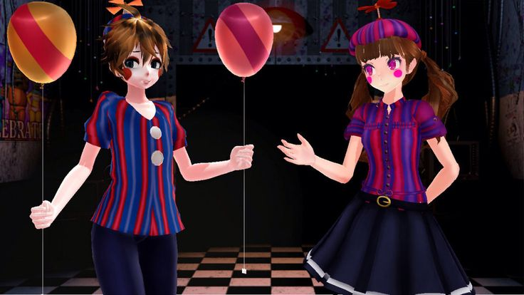 open rp im bb shyly gives her a balloon five nights