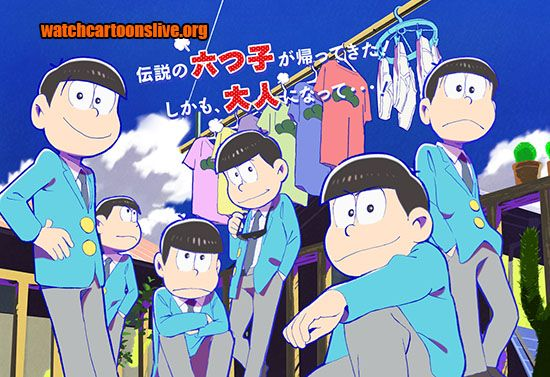 You will Watch Osomatsu-san Episode 1 English Subbed online free episodes with HQ / high quality. Stream cartoons Osomatsu-san Episode 1 English Subbed Online Be Mine.