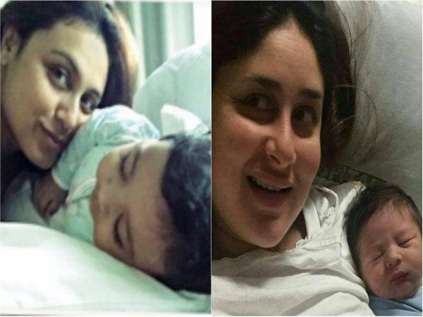 Guess what's common between Kareena Kapoor's baby Taimur and Rani Mukerji's baby Adira?