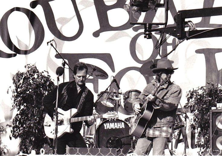 With Roger McGuinn 1993