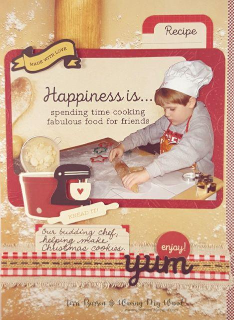 Baking Cookies with Kaisercraft Bon Appetit - Scrapbook.com