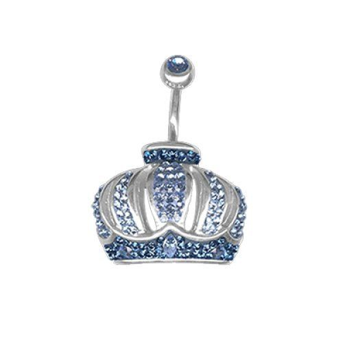Piercing da Ombelico Crystal Evolution Corona Swarovski e Argento, Swarovski Blu e Azzurri,Bananabell in Titanio Chirurgico Crystal Evolution http://www.amazon.it/dp/B00S9Y6EWW/ref=cm_sw_r_pi_dp_QbVavb03DDEPM