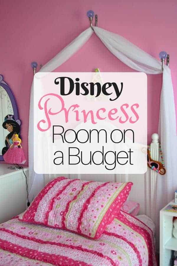 Creating A Disney Princess Room On A Budget Disney Insider Tips Disney Princess Room Disney Princess Bedroom Decor Disney Princess Bedroom