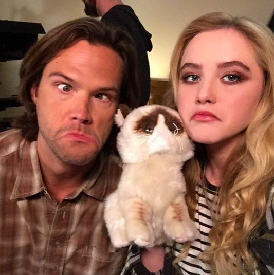 """BTS Supernatural 11x12 """"Don't You Forget About Me"""" - Wayward Daughters and Wayward Sons"""