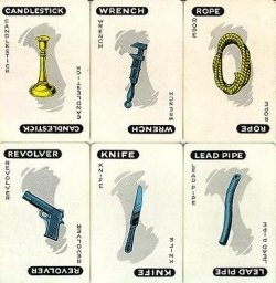 #Clue character, weapons, and rooms lists
