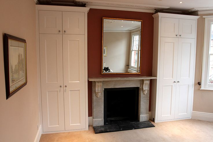 Shaker beaded fitted wardrobes with cornice (Putney SW15)