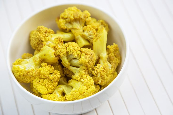 Chou-fleur rôti parfums de l'Inde #recettesduqc #accompagnement #legume