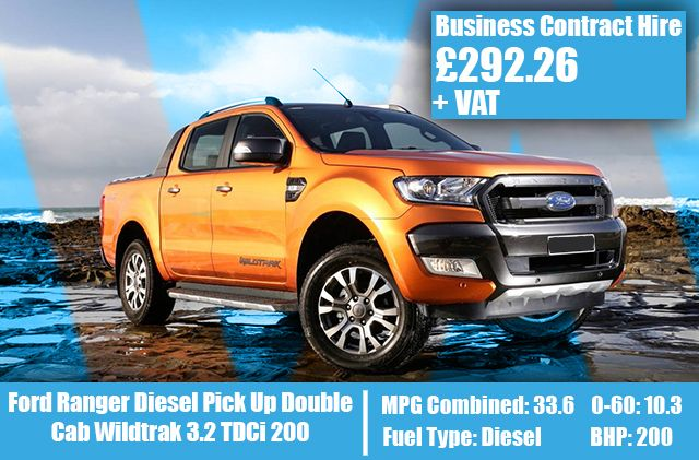 Ford Ranger Diesel Pick Up Double Cab Wildtrak 3.2 TDCi 200