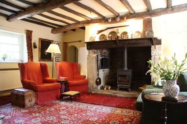 Cottage with inglenook and beams