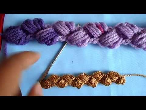 Cordón a crochet para pulceras, gargantillas o sueter - YouTube