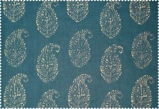 Kashmir Paisley by Peter Dunham Textiles - asian - upholstery fabric - by peterdunhamtextiles.com