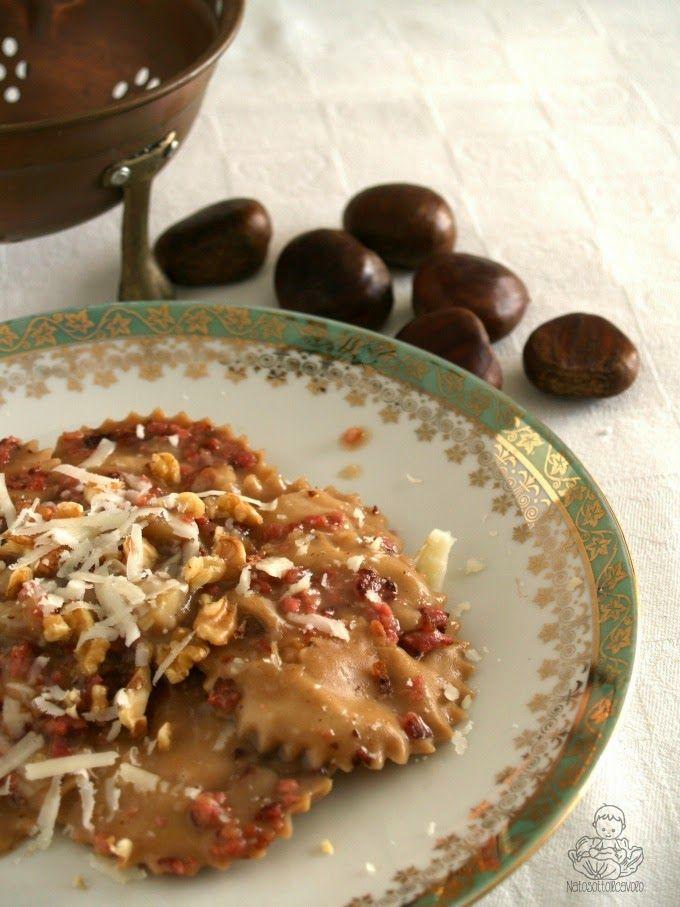 natosottoilcavolo: Tortelli di zucca dolceforti e noci