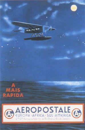 10 octobre 1927 - L'Aéropostale relie la France au Sénégal...