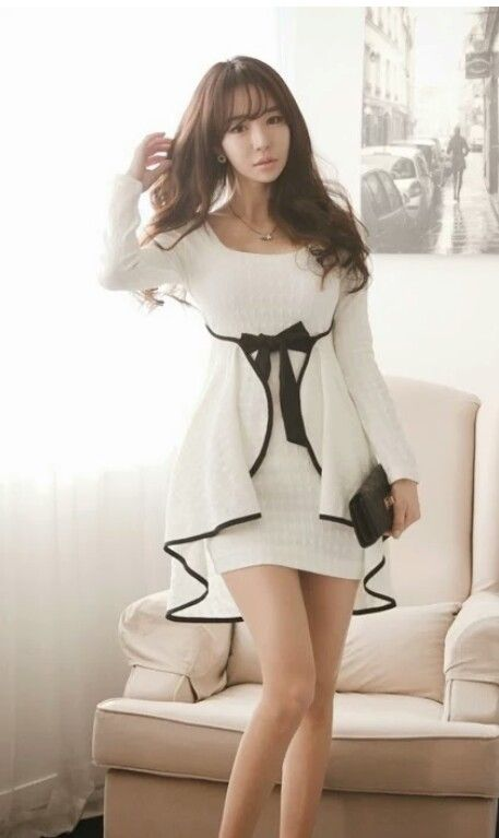 Hermosos vestidos asiáticos