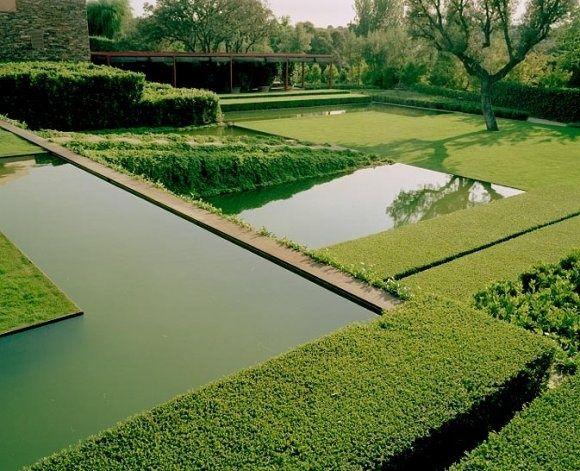 Jardim minimalista • Jardim de Siguta •