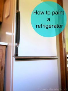 How to Paint a Refrigerator