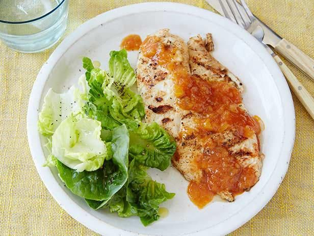 51 best easy white fish recipes images on pinterest cooking grilled tilapia with peach bbq sauce forumfinder Image collections