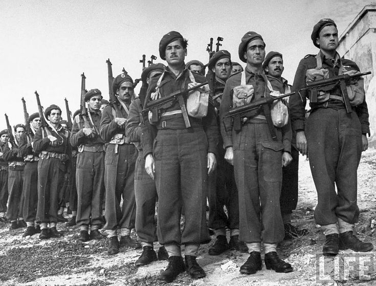 Greek Mountain troops, Dec 44