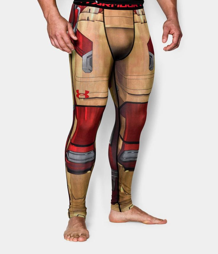 Men's Under Armour® Alter Ego Iron Man Compression Leggings | Under Armour US