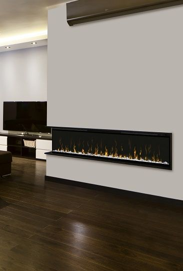 Dimplex Xlf 74 Linear Electric Fireplace With Multi Fire Led Effects Condo Electric