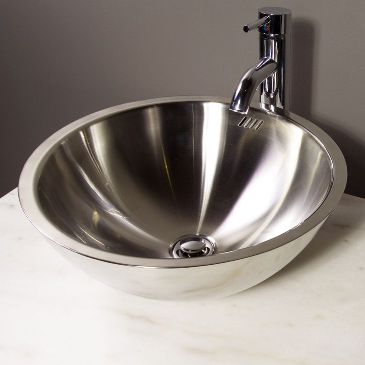Cantrio Koncepts MS 001 Vessel Sink Stainless Steel at