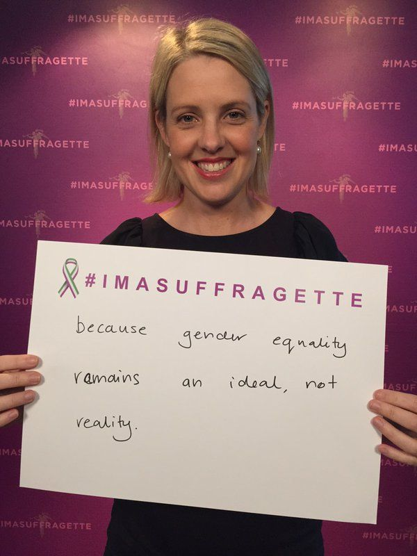 @georgiedent #imasuffragette because  gender equality remains an ideal not a reality #inspiringwomen #suffragette https://t.co/OjuK9TFNyw