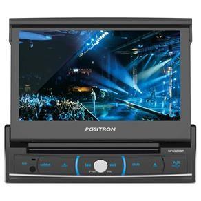 DVD Player Automotivo Pósitron SP6320BT com Tel...