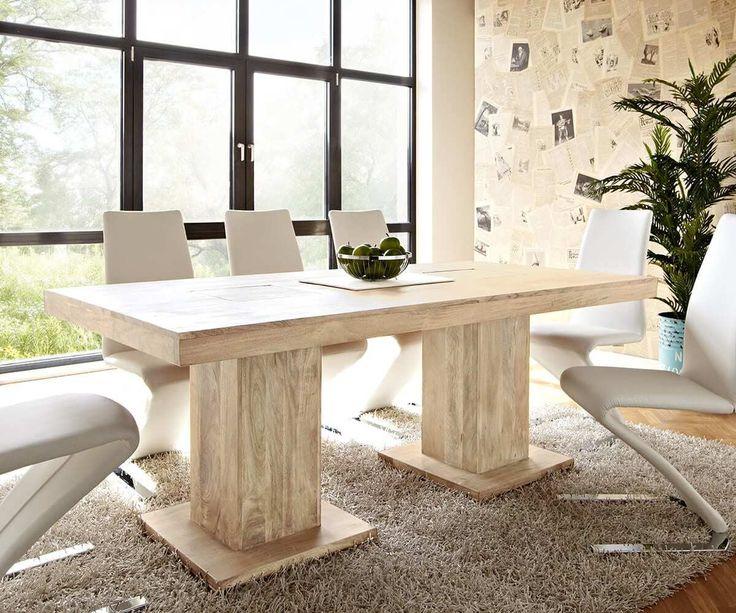 Die besten 25+ Esstisch akazie Ideen auf Pinterest Akazienholz - moderne massivholz esszimmermobel