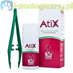 ATIX Zestaw do bezpiecznego usuwania kleszczy dla zwierząt i ludzi