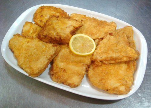 "Portuguese Style Fish Fillets...Light batter lemony and garlicky! ""Filets de Peixe"""