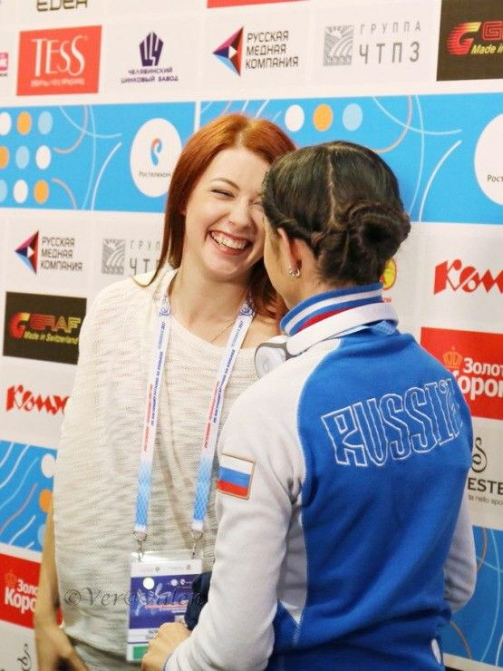 Russian Nationals Evgenia Medvedeva Ekaterina Bobrova