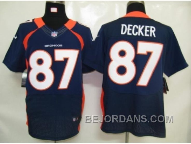 http://www.bejordans.com/free-shipping-60-off-nike-nfl-denver-broncos-87-eric-decker-blue-elite-jerseys.html FREE SHIPPING ! 60% OFF! NIKE NFL DENVER BRONCOS #87 ERIC DECKER BLUE ELITE JERSEYS Only $20.00 , Free Shipping!