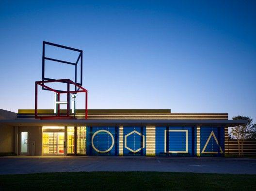 Chesapeake Child Development Center / Elliott + Associates Architects  Scott McDonald © Hedrich Blessing
