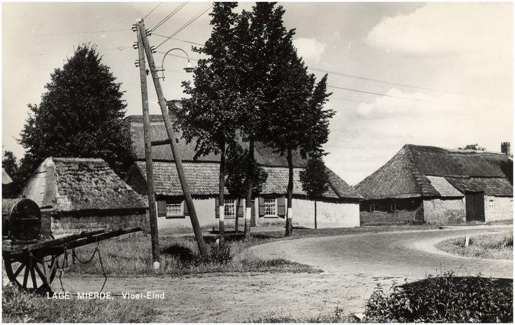 Lage Mierde,  Boerderij, Vloei-Eind Jos Pé (fotograaf) 1960 - 1970