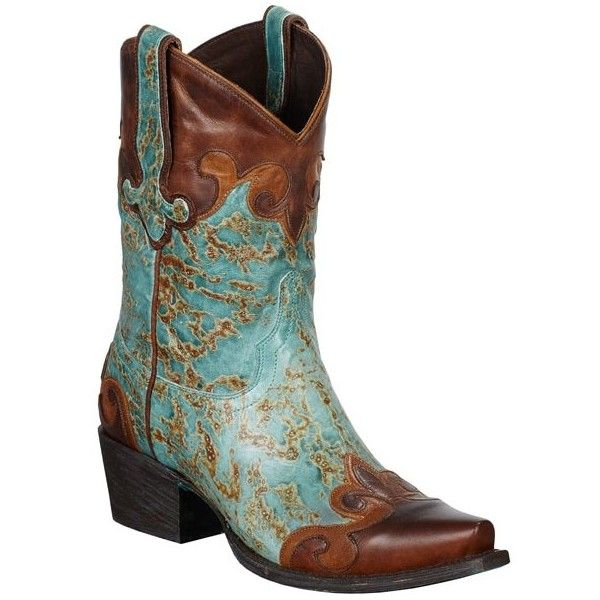 Lane Boots Women's 'Dakota' Brown and Turquoise Leather Cowboy Boots ($340) ❤ liked on Polyvore featuring shoes, boots, cowboy boots, brown, mid-calf boots, brown cowboy boots, western boots, embroidered cowboy boots and cowgirl boots
