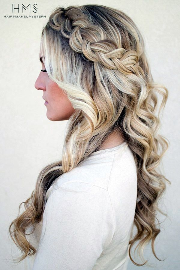 Spring Hairstyles 323 Best Hairstyles Images On Pinterest  Coiffure Facile Cute