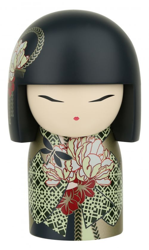 """Kimmidoll™ Misayo - 'Serenity' - """"My spirit is tranquil and trusting. With your unshakable calm and quiet contentedness you reveal the secret of my serene spirit. May the belief you have in yourself and the faith you hold in the abundance of life always bring you a sense of peace."""""""