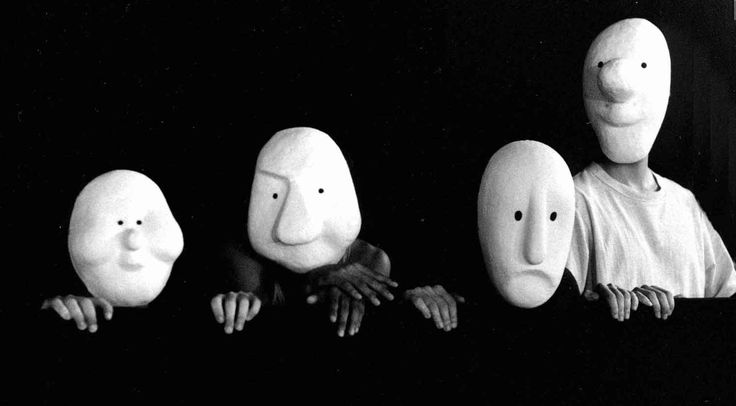 Larval Masks by Herr Zingg (Basel-CH)